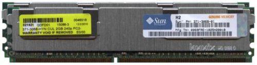 371-4140 Sun 4GB DDR2-667/PC2-5300 RAM Kit