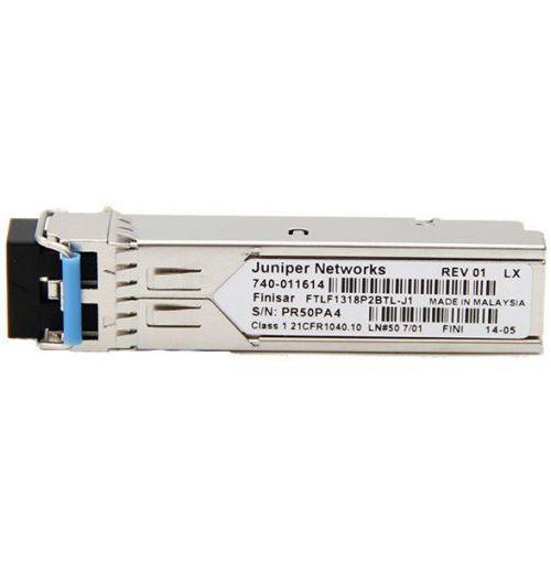 EX-SFP-1FE-LX SFP 100BASE-LX; LC connector; 1310nm; 10km Reach on Single Mode Fiber