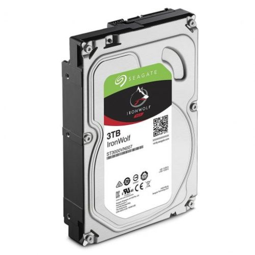 ST3000VN007 SEAGATE IRONWOLF NAS INTERNAL 3.5″ SATA DRIVE