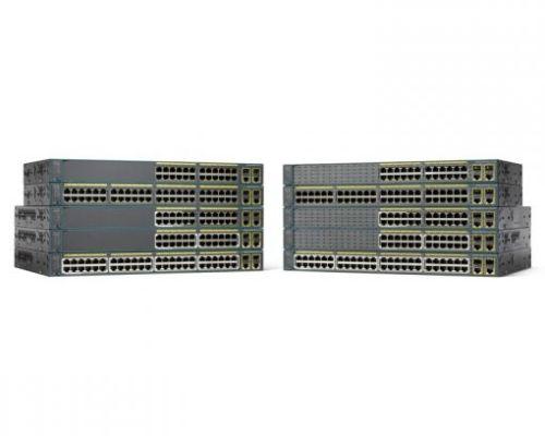 WS-C2960+48PST-L Cisco Catalyst 2960-Plus