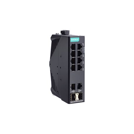 EDS-2010-ML-2GTXSFP-T MOXA Unmanaged Ethernet Switch EDS-2010-ML-2GTXSFP-T