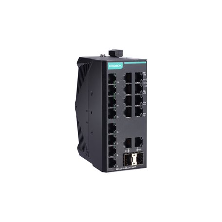 EDS-2018-ML-2GTXSFP-T MOXA Unmanaged Ethernet Switch EDS-2018-ML-2GTXSFP-T