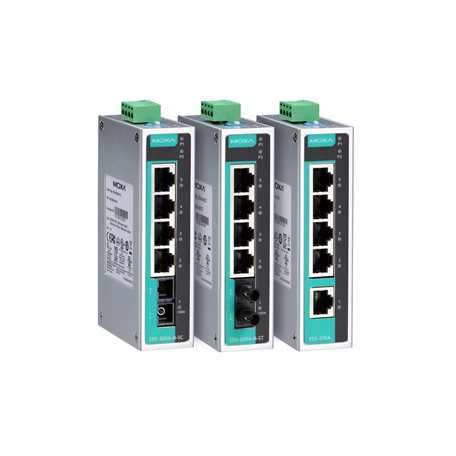 EDS-205A-T MOXA Unmanaged Ethernet Switch EDS-205A-T