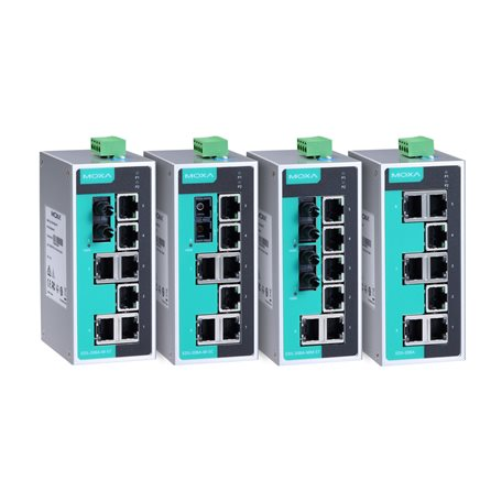 EDS-208A-T MOXA Unmanaged Ethernet Switch EDS-208A-T
