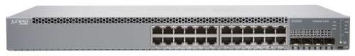 EX2300-24T-DC Juniper EX2300 ES 24-port 10/100/1000BaseT with internal DC PSU
